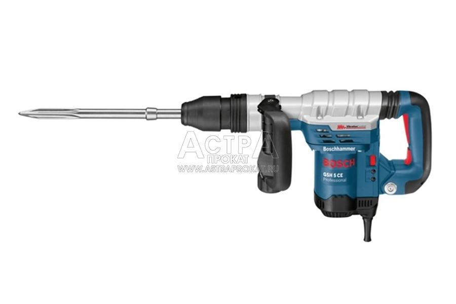 Аренда отбойного молотка 13 Дж Bosch GSH 5 CE Professional