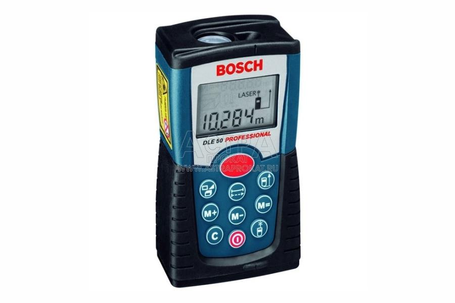 Аренда лазерного дальномера Bosch DLE 50