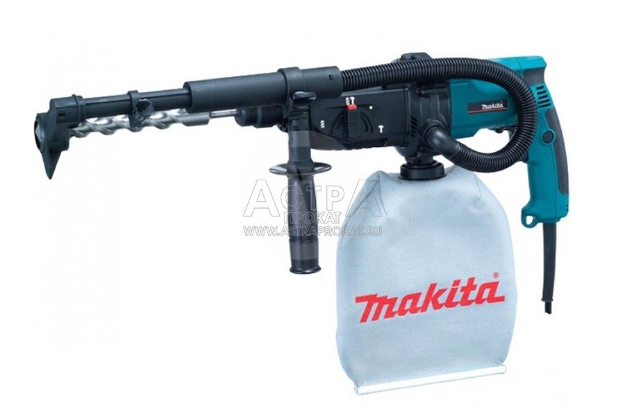 Аренда перфоратора с пылесосом Makita HR 2432 SDS-Plus 2.2 Дж